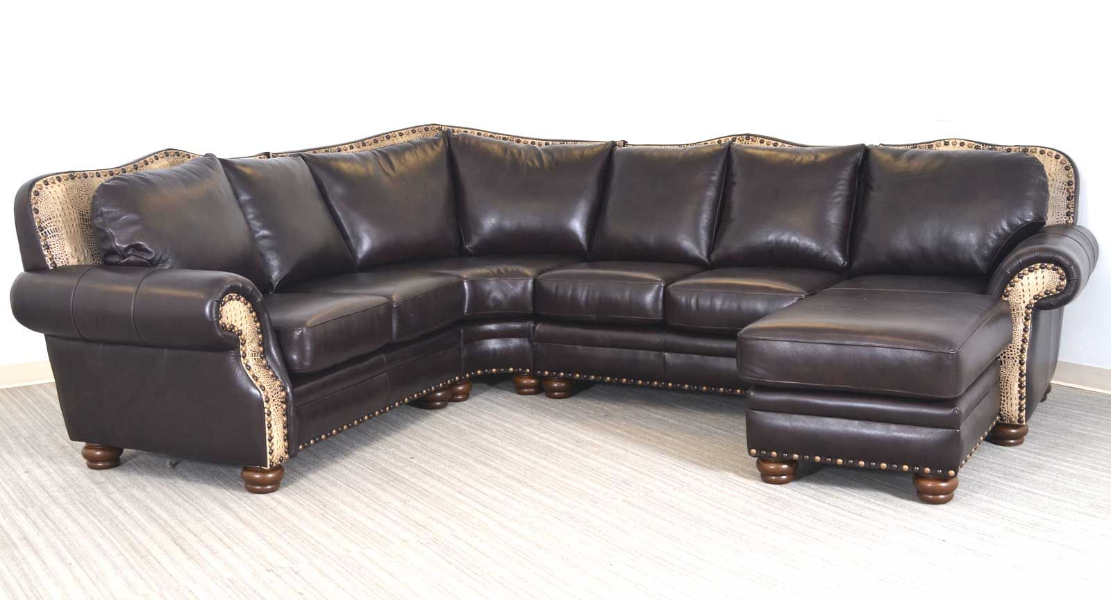 Rustic Elegance Leather Furniture