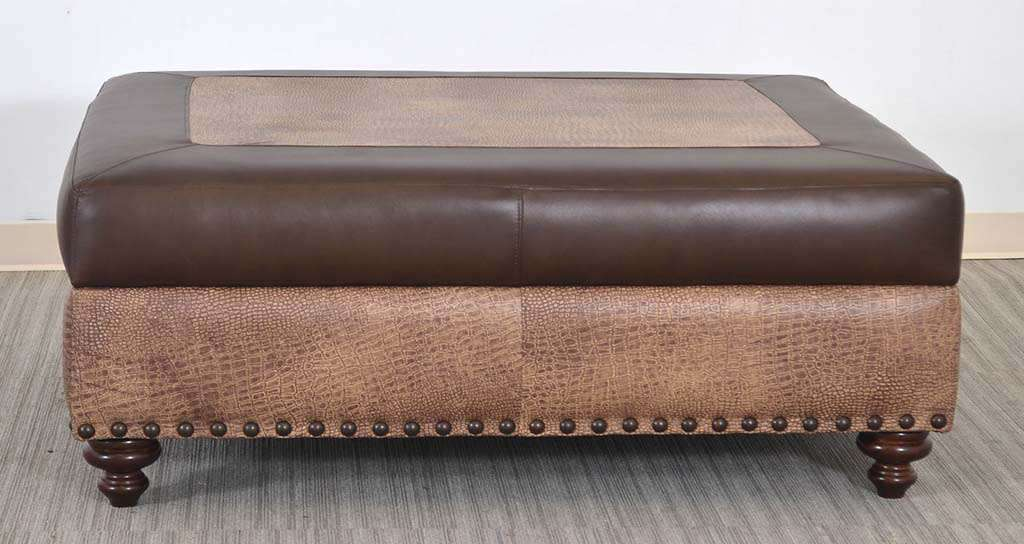 Leather Ottomans Styles The Leather Sofa Company