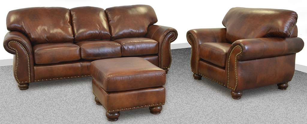 Custom Leather Sofas