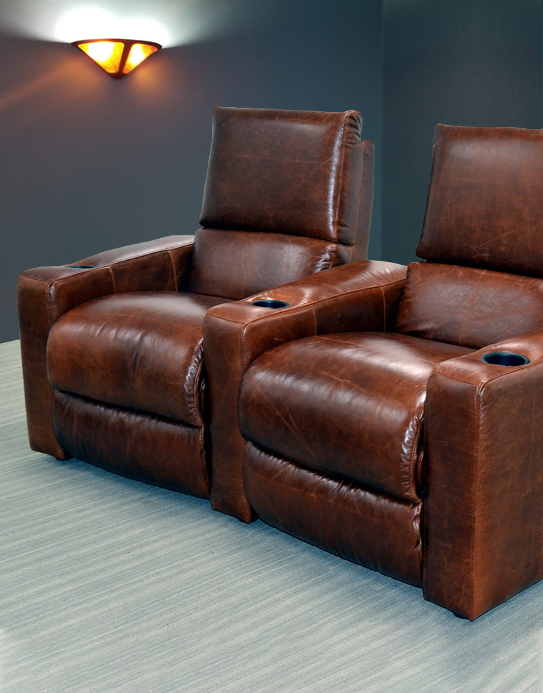 Leather Home Theater Seating