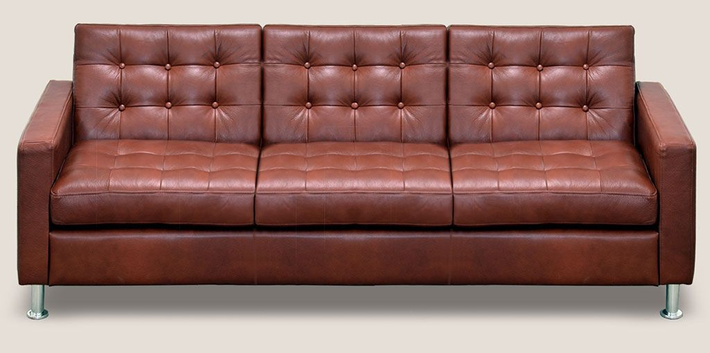types of leather sofas guide