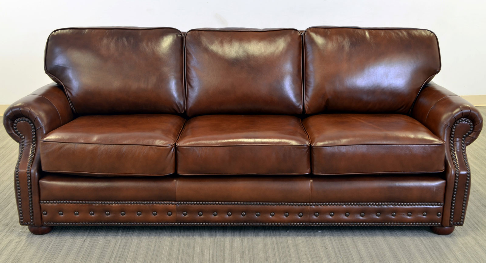 hudson sofa the leather sofa company. Black Bedroom Furniture Sets. Home Design Ideas