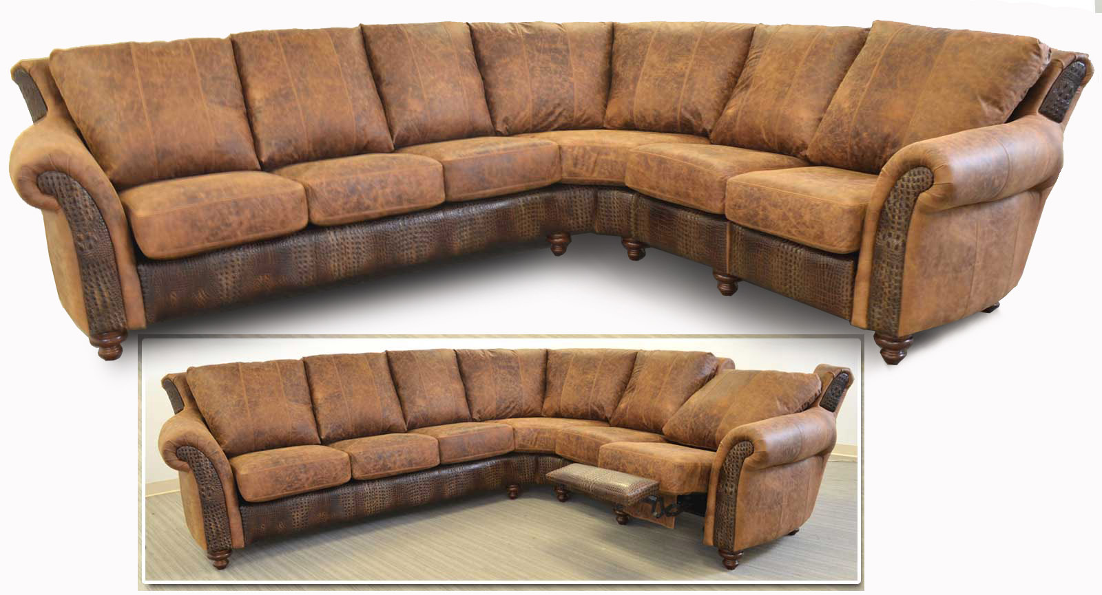Right Arm Sofa Wedge Left Arm Loveseat Wedge Incliner
