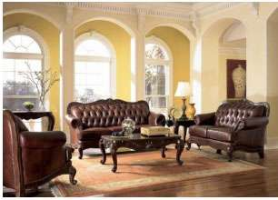 Tuscan Style Leather Furniture The