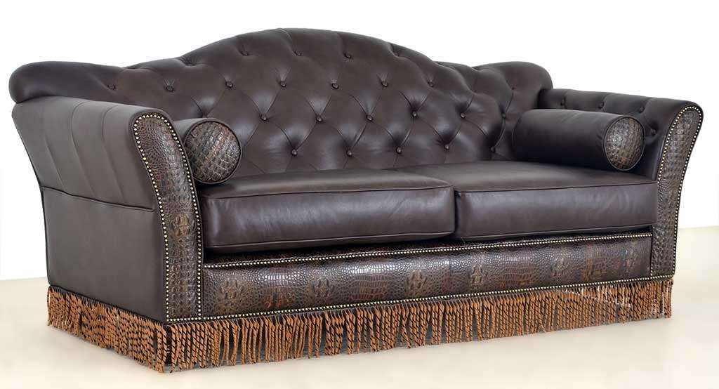 Arts and crafts sofa arts crafts style inspired prairie for The sofa company