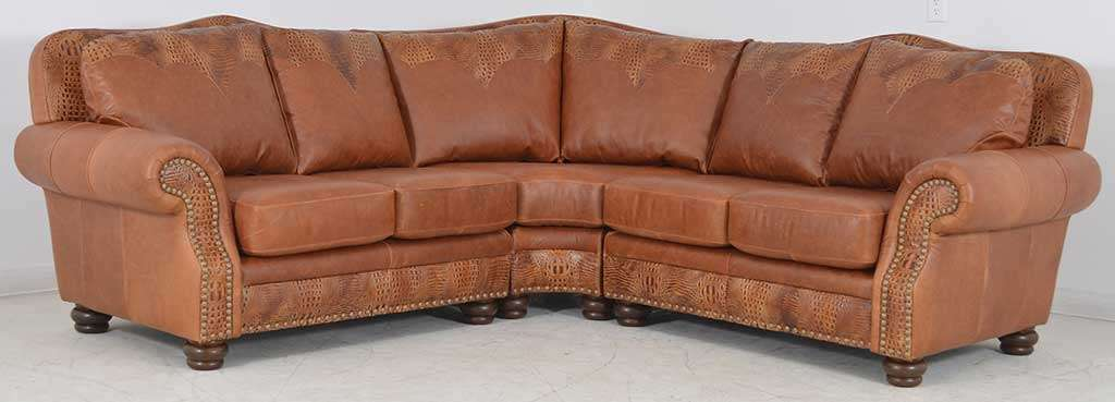Transitional Style Leather Sofas in Dallas ‹‹ The Leather Sofa Company