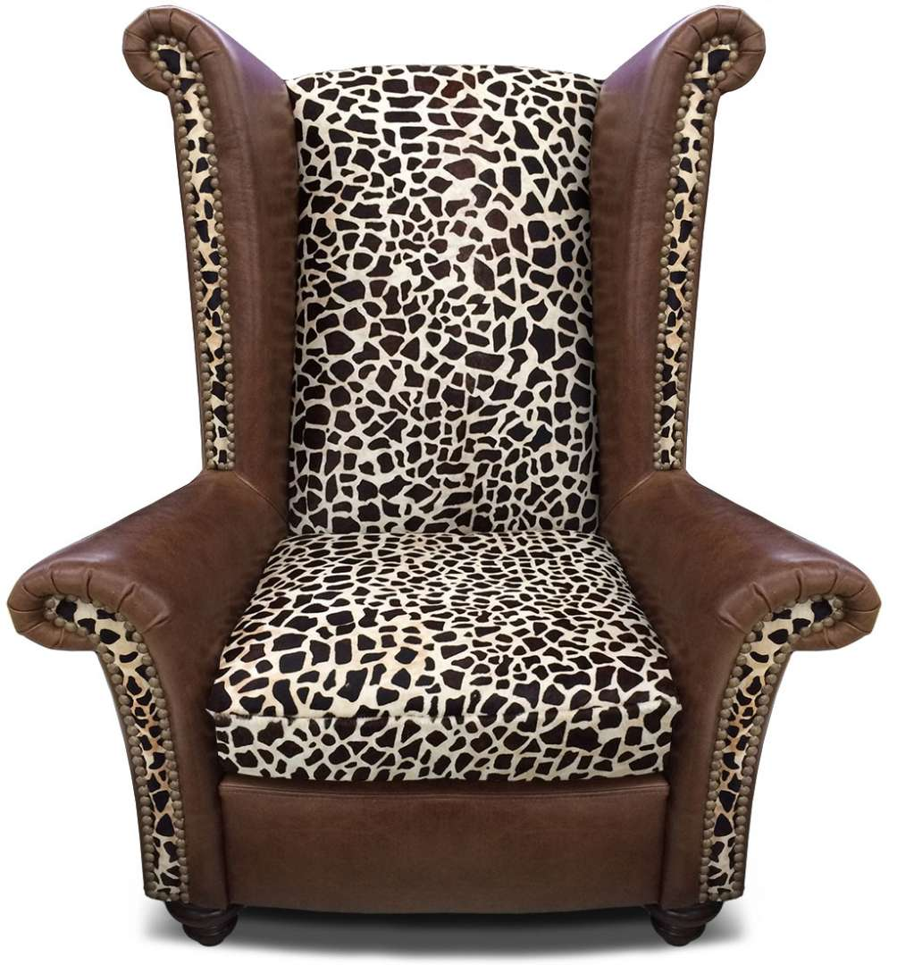 Safari Collection King Chair Front  sc 1 st  The Leather Sofa Company & Safari Furniture Collection King Chair u2039u2039 The Leather Sofa Company