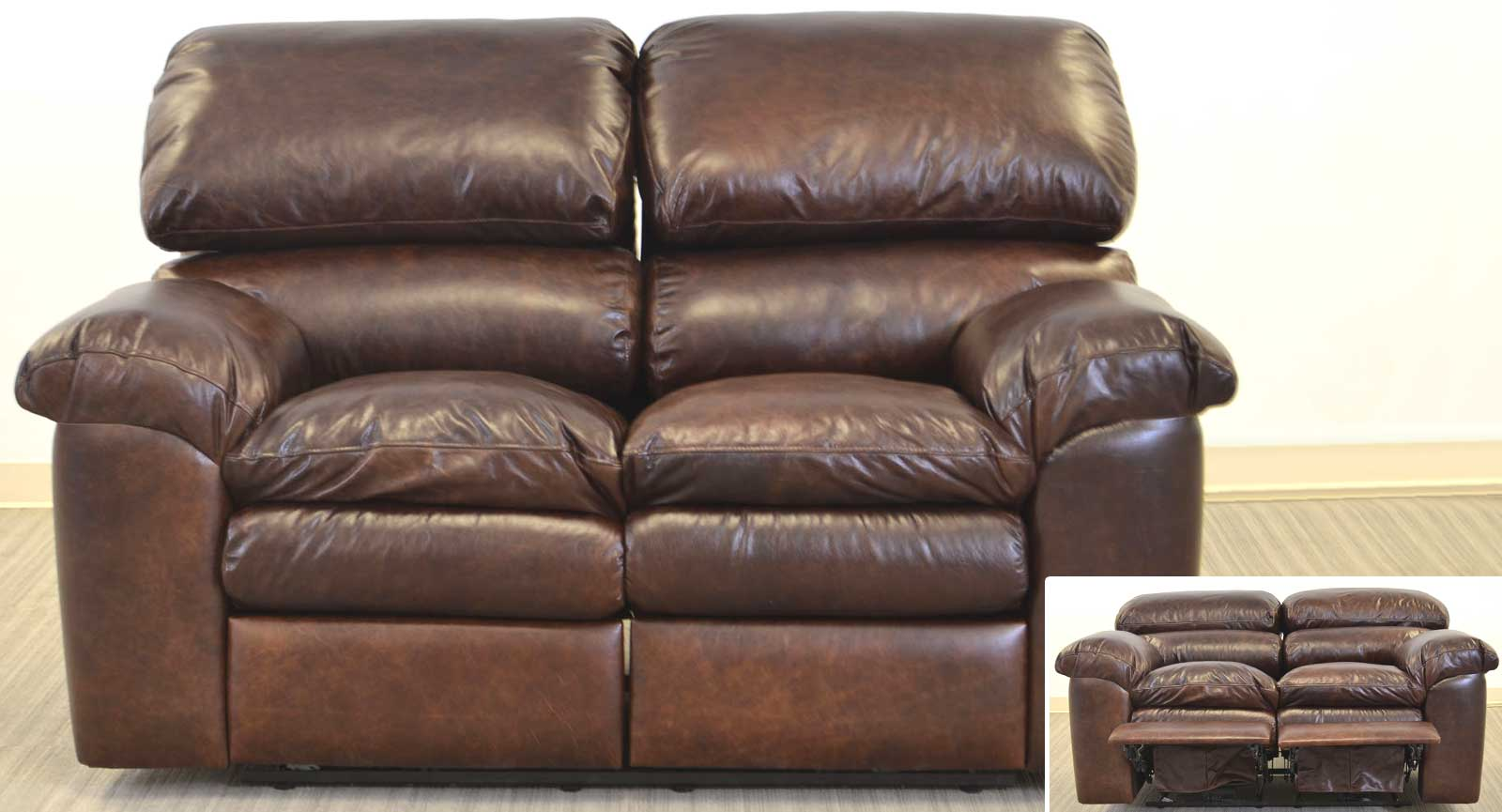 Loveseat With Two Incliners