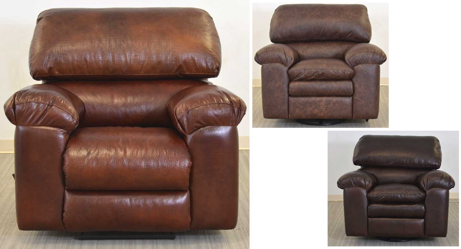 Three Swivel Glider Recliners