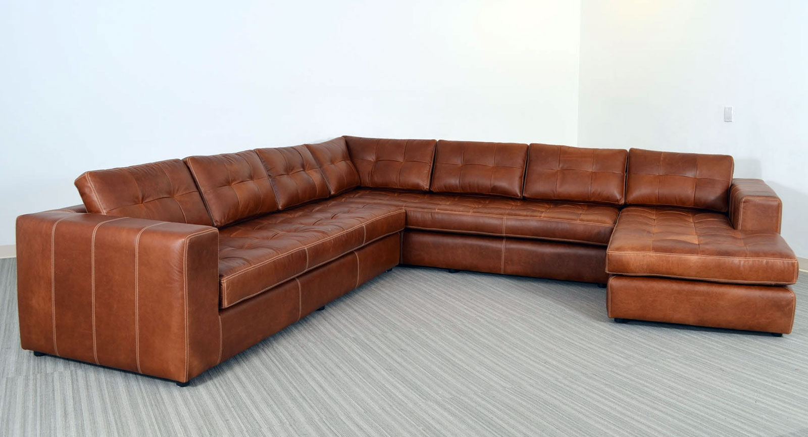 Gev Right Arm Corner Sofa Armless Loveseat  Left Arm Chaise