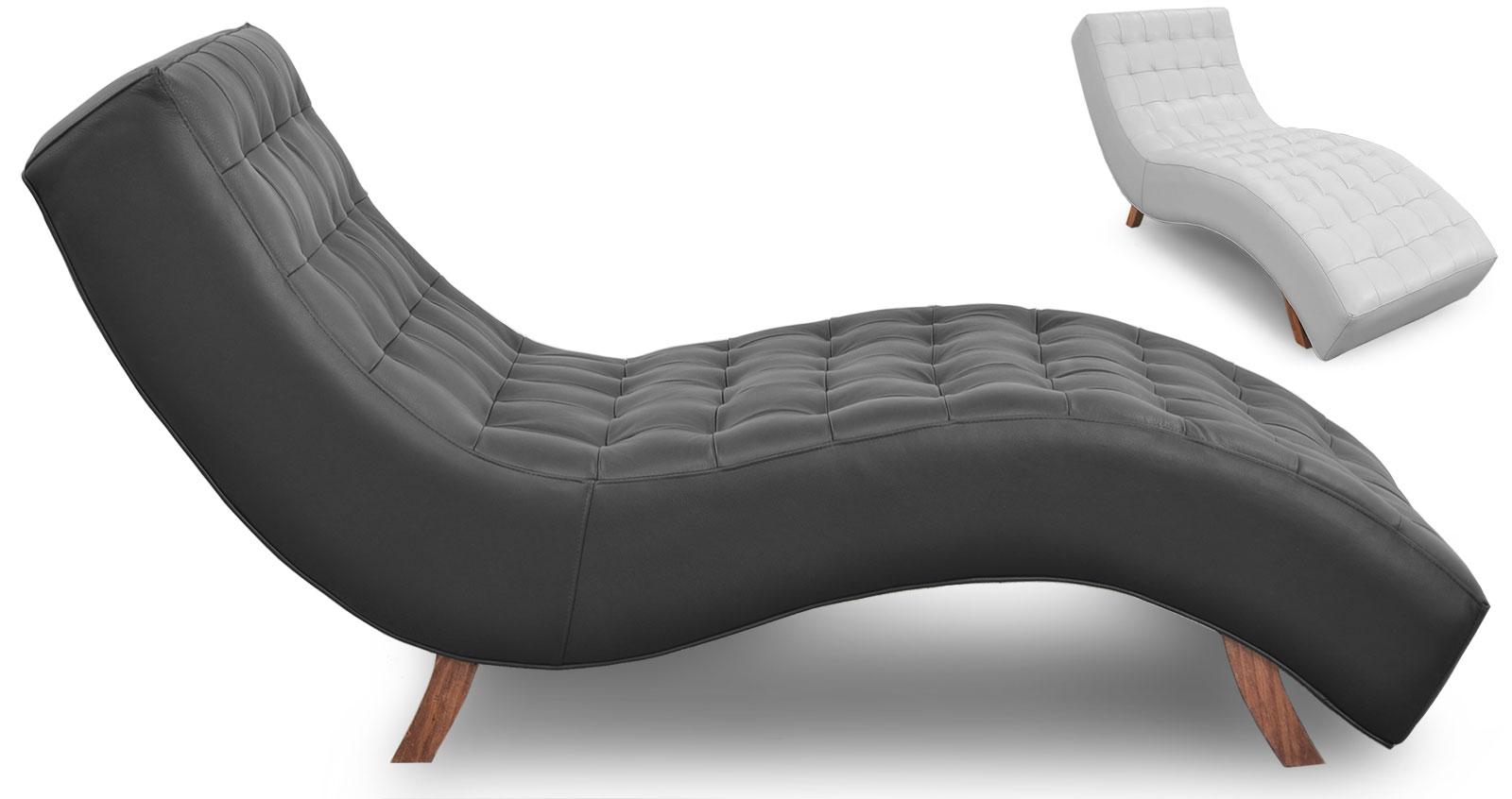 Italia chaise lounge the leather sofa company for Chaise lounge company