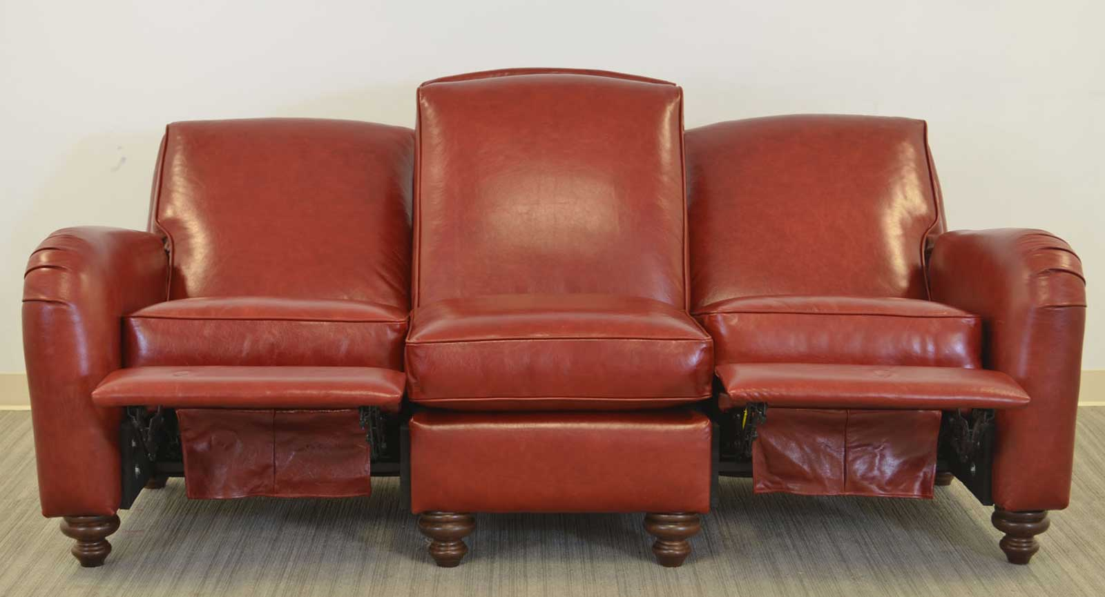 Sofa Two Incliners Open