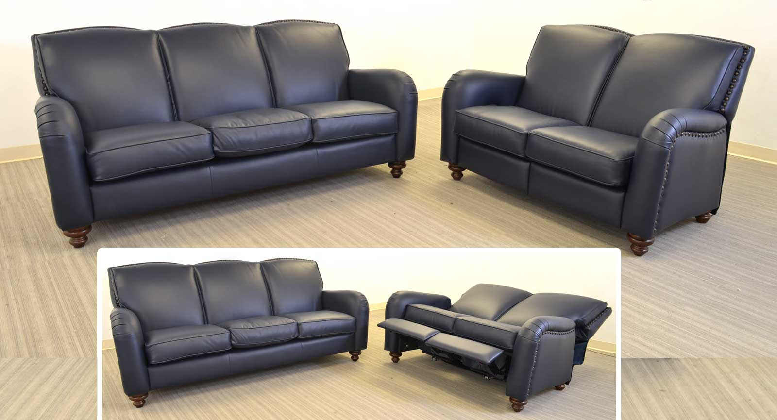 Three Seat Sofa Loveseat Incliners