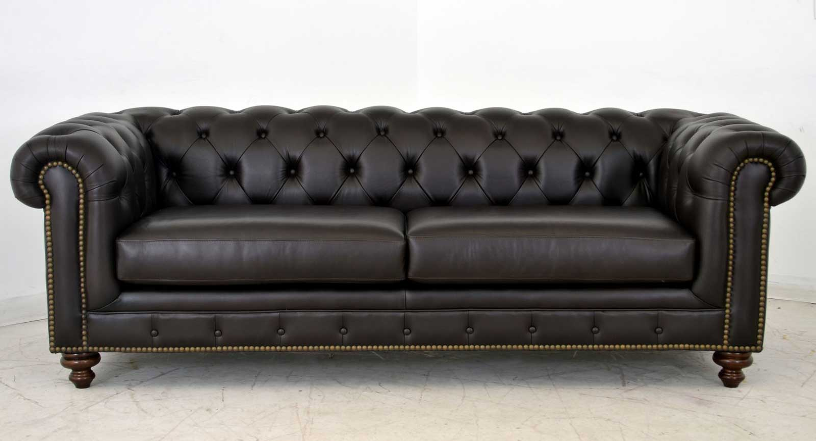 Two Seat Sofa Black