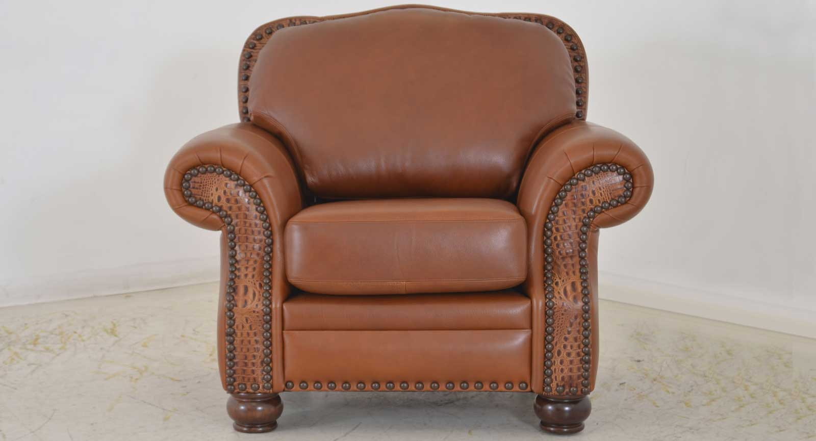 Chair Embossed Leather