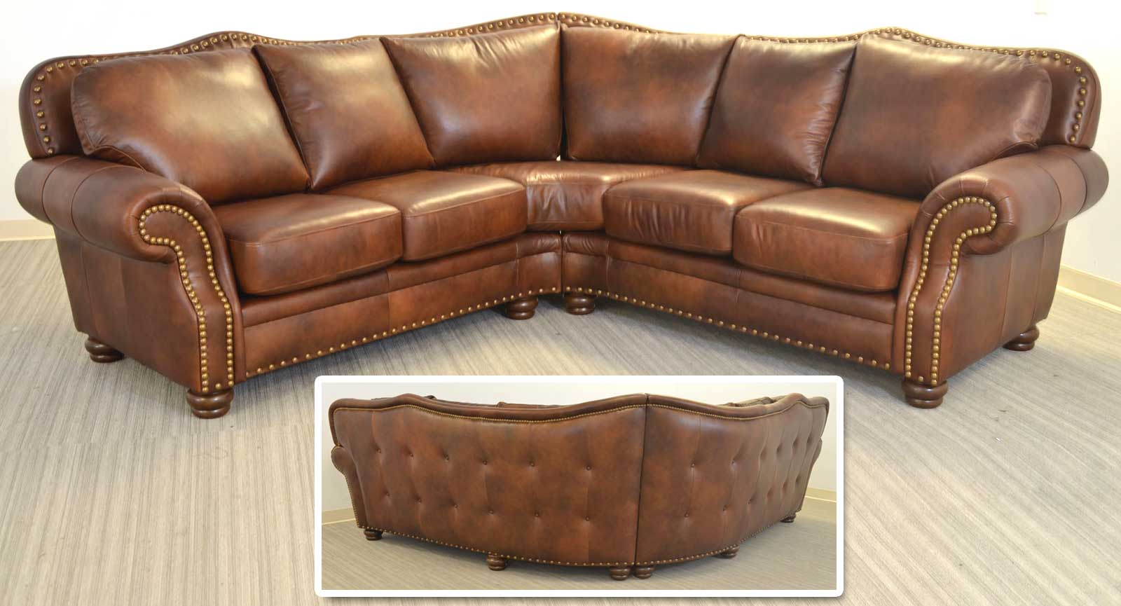 Right Arm Loveseat Wedge Left Arm Loveseat Wedge