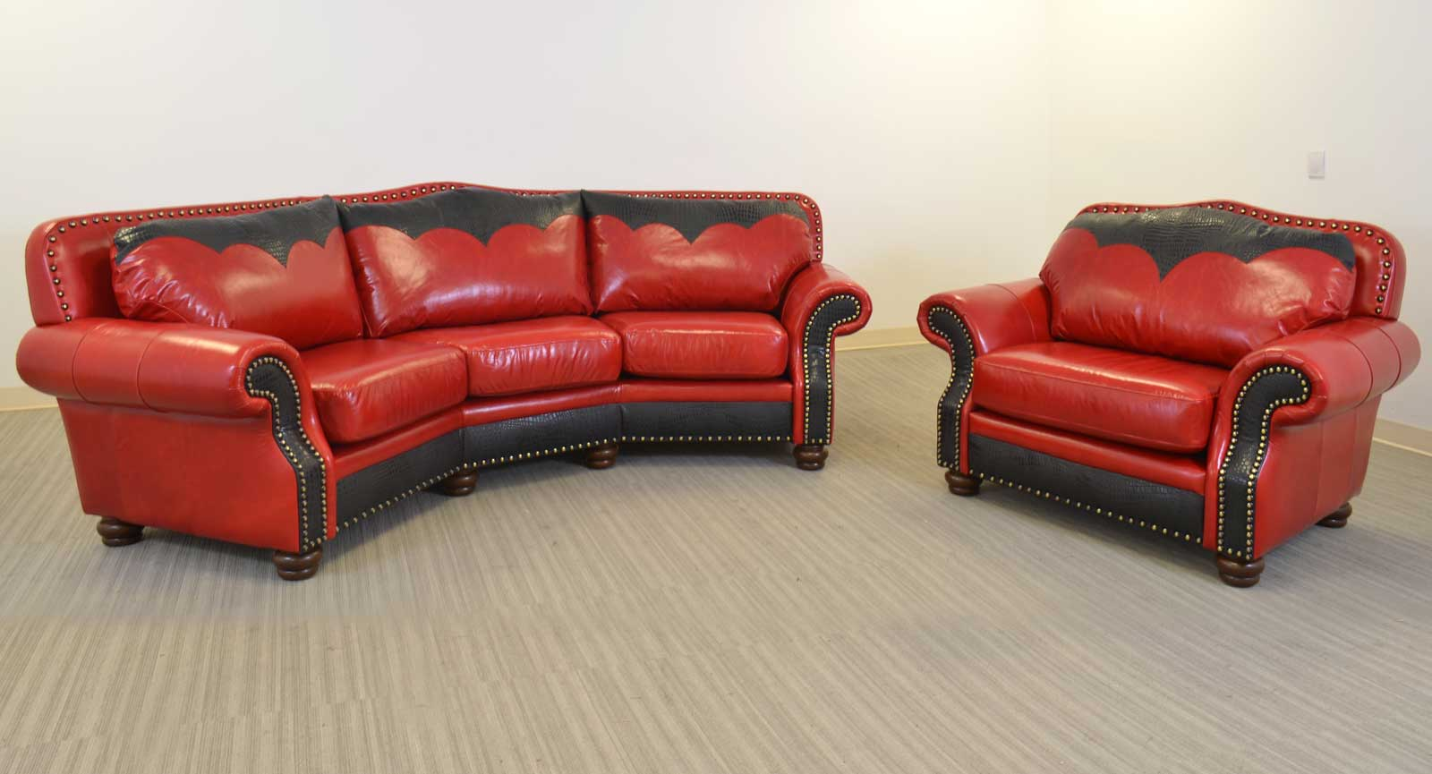 Theater Sofa Chair And Half