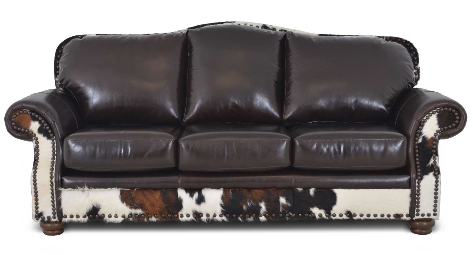 Three Seat Sofa Hair On Hide