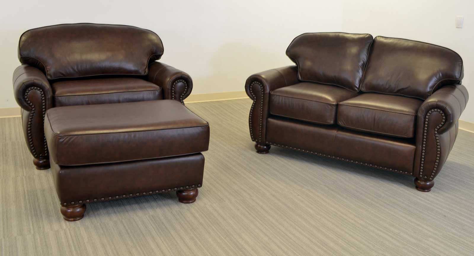 Love Seat Chair And Half Ottoman