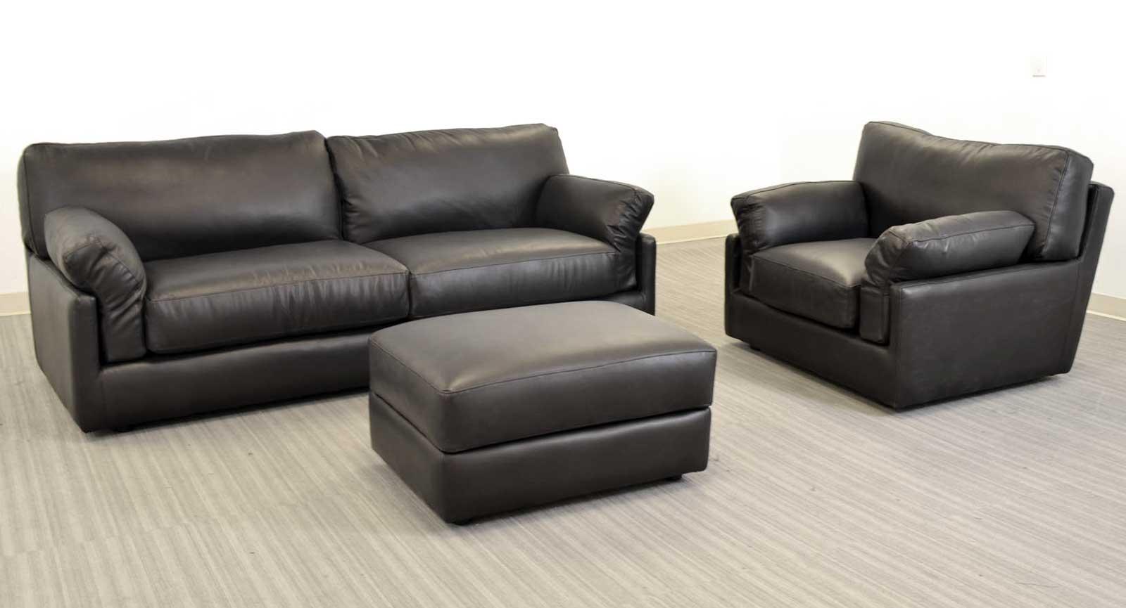 Sofa Chair And Ottoman Bisenti Chair And A Half Ottoman