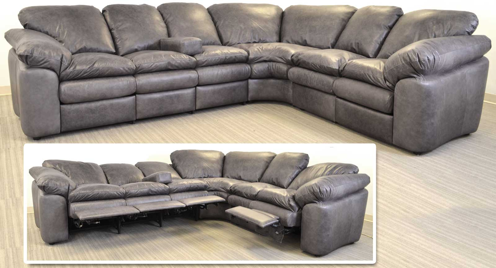 RA Sofa Pie LA Loveseat With Incliners