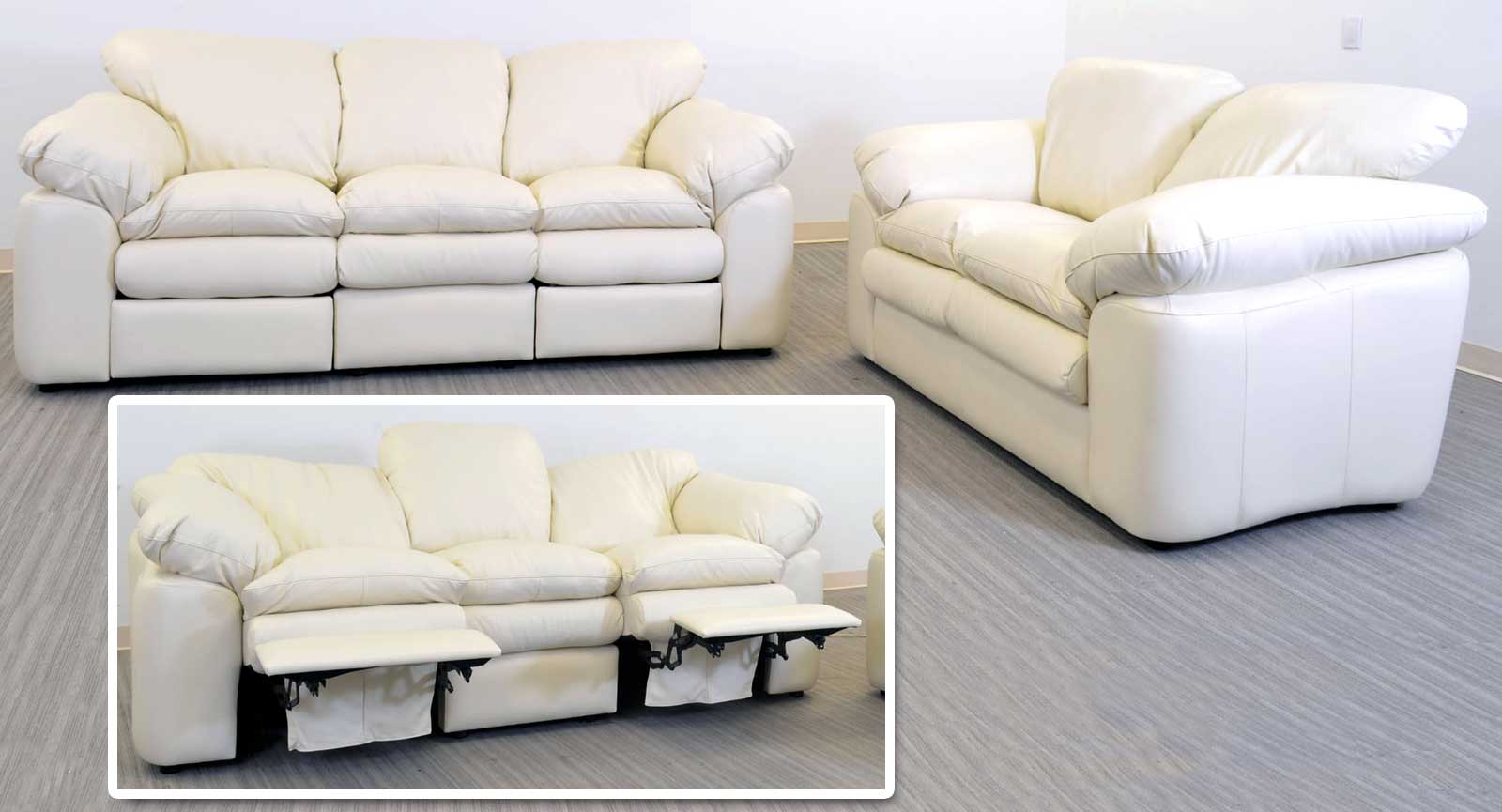 Three Seat Sofa With 2 Incliners Loveseat