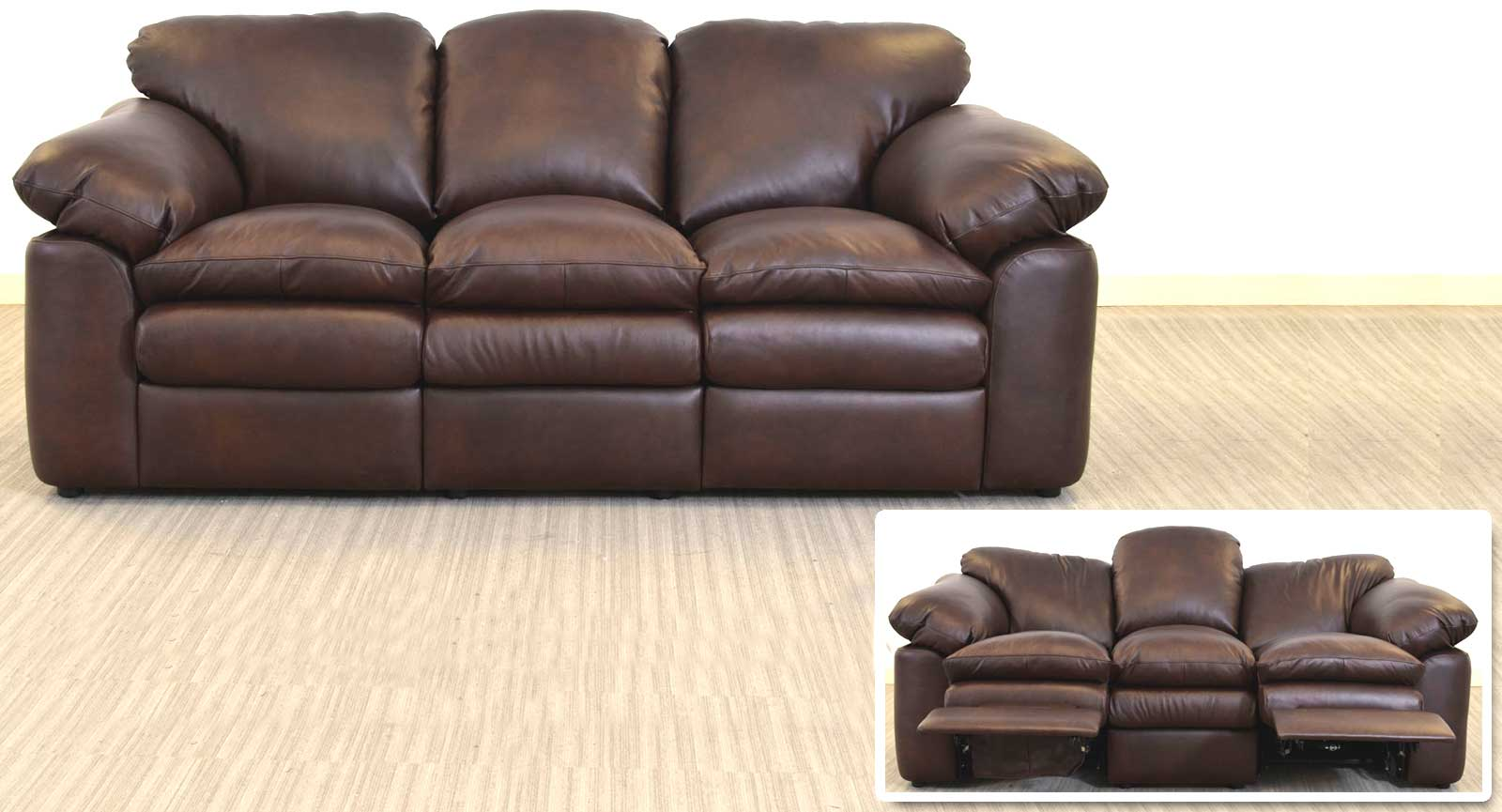 Three Seat Sofa With 2 Incliners