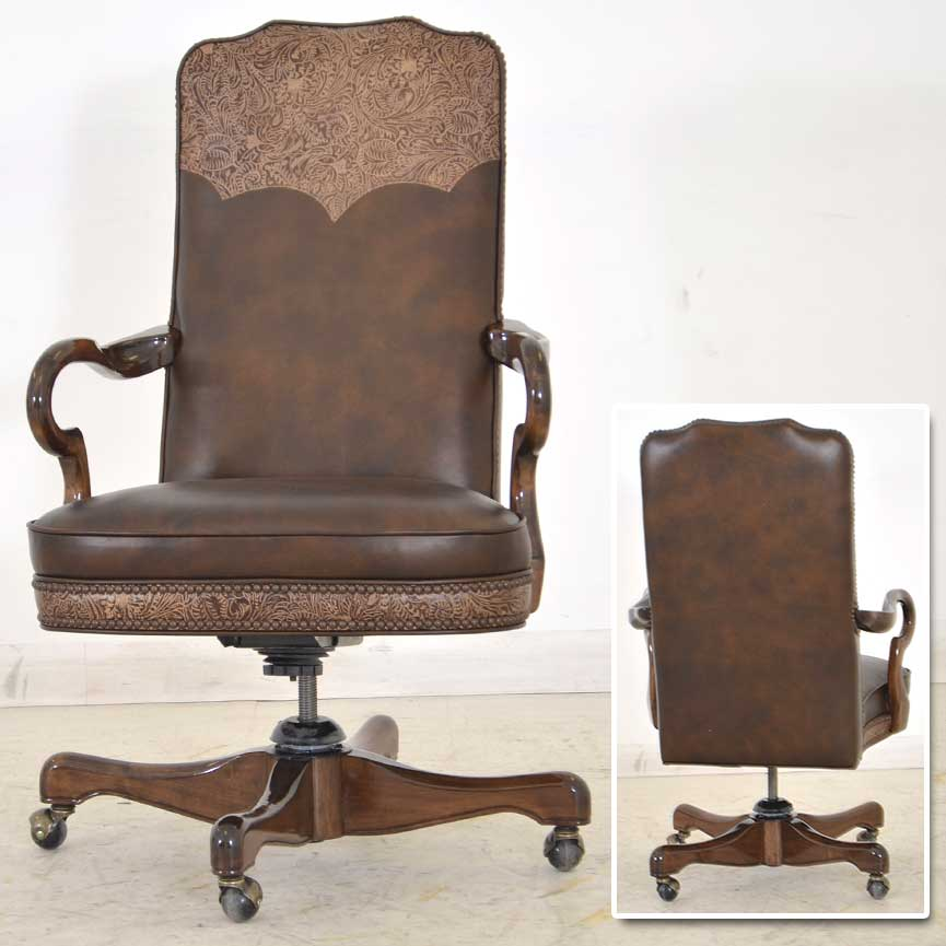 Home Chair: Western Office Chair Texas Home ‹‹ The Leather Sofa Company